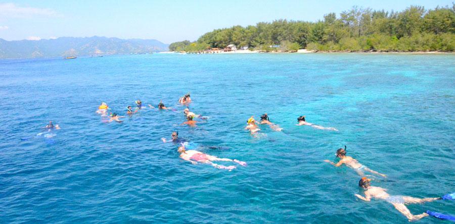 Snorkeling Gili Trawangan