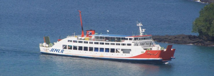 Ferry from Bali to Lombok and return