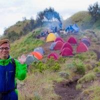 About us Hiking Mount Rinjani